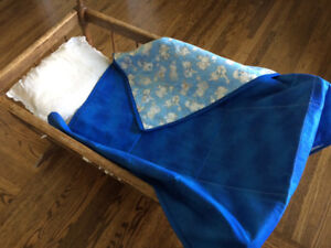 Baby Boy Blanket,Toddler Blanket,Lap Blanket,Wheel Chair Blanket