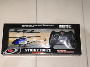 Toy helicopter with remote,  for parts