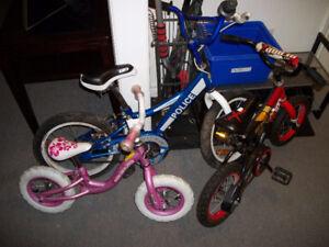 3 Kids Bikes Sold As A $15 Bundle