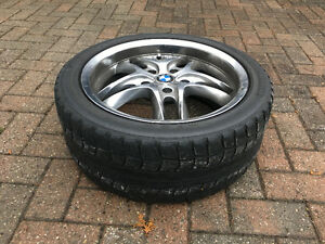 BMW tires and rim all seasons and winter