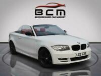 2009 BMW 1 Series 2.0 118I SPORT 2d 141 BHP Convertible Petrol Manual