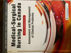 Medical surgical nursing in Canada - 4th ed.