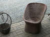 Patio furniture for sale.