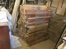 Wooden Staircase Spindles x 500 (will sell separately)