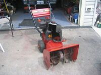 SNOWBLOWER MASTERCRAFT 4HP 20 INCH