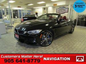 2015 BMW 4 Series 435i xDrive  AWD EXEC/PREM-PKG NAV 360-CAM RED
