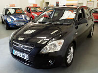 2007 KIA CEE'D 1.6cc CRDI - SERVICE HISTORY - HALF LEATHER - **REDUCED**