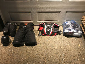 Assorted Hockey Gear - Men and Kids Sizes