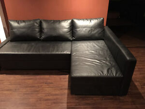 IKEA couch and coffee table
