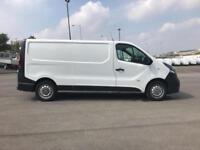 Vauxhall Vivaro L2 H1 2900 1.6 115PS EURO 5 DIESEL MANUAL WHITE (2016)