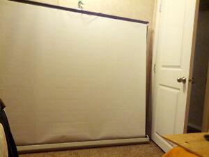 "Projector Screen Luma 84"" diagonal"