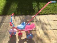 Children's trike by baby annabell
