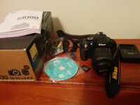 Like New Nikon D5100 18-55 VR Kit + 32 GB SDHC Memory Card