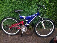 Concept mountain bike