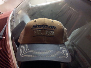 Car and beer company hats