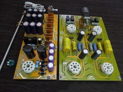 Famous circuit 6SN7 Tube preamplifier DIY KIT refer Cary preamp best sound  b ZHI