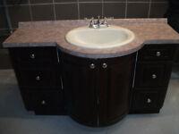 Meuble-Lavabo de salle de bain