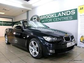 BMW 3 SERIES 320d SE Convertible [4X SERVICES, SAT NAV, LEATHER and HEATED SEATS