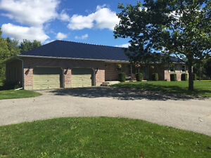 Home on 4.3 Acres in city with Country Living!
