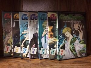 Anime: GetBackers Vol. 1 to 7