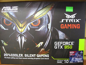 ASUS GeForce GTX 950 Strix OC 1355MHZ 2GB GDDR5 DVI DP HDMI