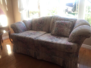 Loveseat and Chair to match