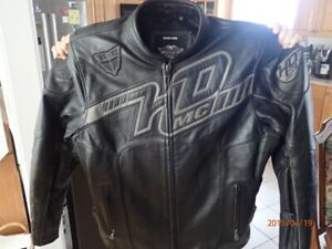 Harley Davidson vented Leather Jacket - XL Tall
