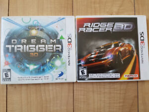 Nintendo 3DS games $15 each or both for $20