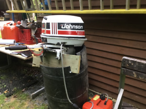 30 hp. Outboard motor