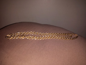 18k Gold Plated Men's Chain