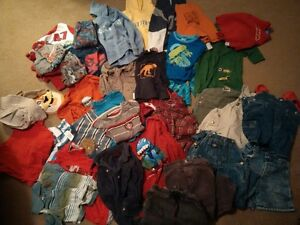 40 piece lot of boys clothing size 2-3