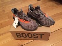Yeezy Boost 350 V2 Beluga Solar Red Unisex Trainers Shoes Footwear Sneakers