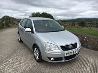 2009 Vw Polo 1.4 Tdi Match 5 door low tax. Finance Available