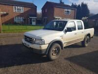 2003 Ford Ranger 2.5TDdi 4x4 Pickup Double Cab (ENGINE NOCKING)