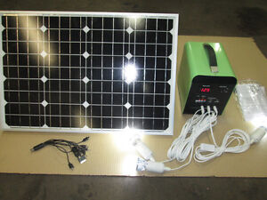 12 VOLT SOLAR KIT COMPLETE FOR CABIN/CAPING/HUNTING PORTABLE Prince George British Columbia image 4