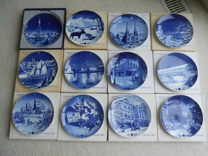 Canada Collector Plates Complete Set 1973-1984