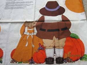 Little Pilgrims Thanksgiving Table Centerpiece to craft Windsor Region Ontario image 2