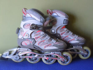 patins  a roues alignees