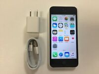 iPhone 5c 16GB White Bell/Virgin Mobile No Scratches or Dents