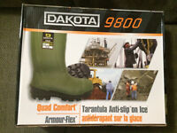 Brand new Dakota steel toe CSA approved boots