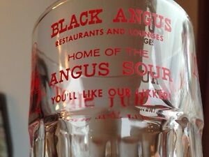 Texas Bull Shot Glass Black Angus Restaurant & Lounges Gatineau Ottawa / Gatineau Area image 5