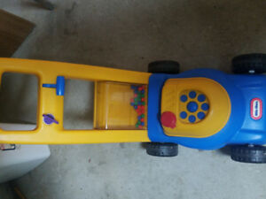 Little tikes  lawn mower + jumping ball