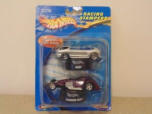 Hot Wheels Racing Stampers Deora & Hammered Coupe