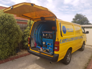 Carpet Cleaning Van with Truckmount