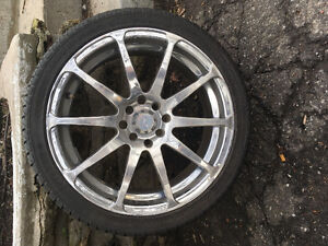 High performance tires and rims (205 40r17)
