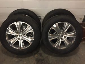 275 55 r20 Hankook dynapro with Ford rims