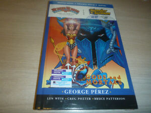 Wonder Woman: Gods & Mortals Book & DVD Set(sealed)