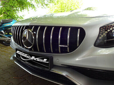 Mercedes S A217 S C217 Panamericana Look Grill Bis Modellpflege 09.2017