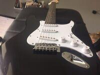 C.Giant Electric Guitar + Amp
