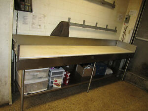 Welded Steel Frame Work Table